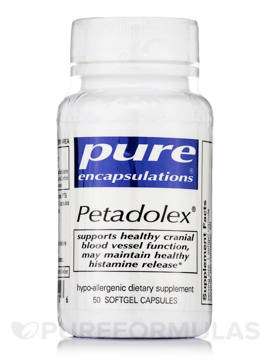 Petadolex - 50 Softgel Capsules