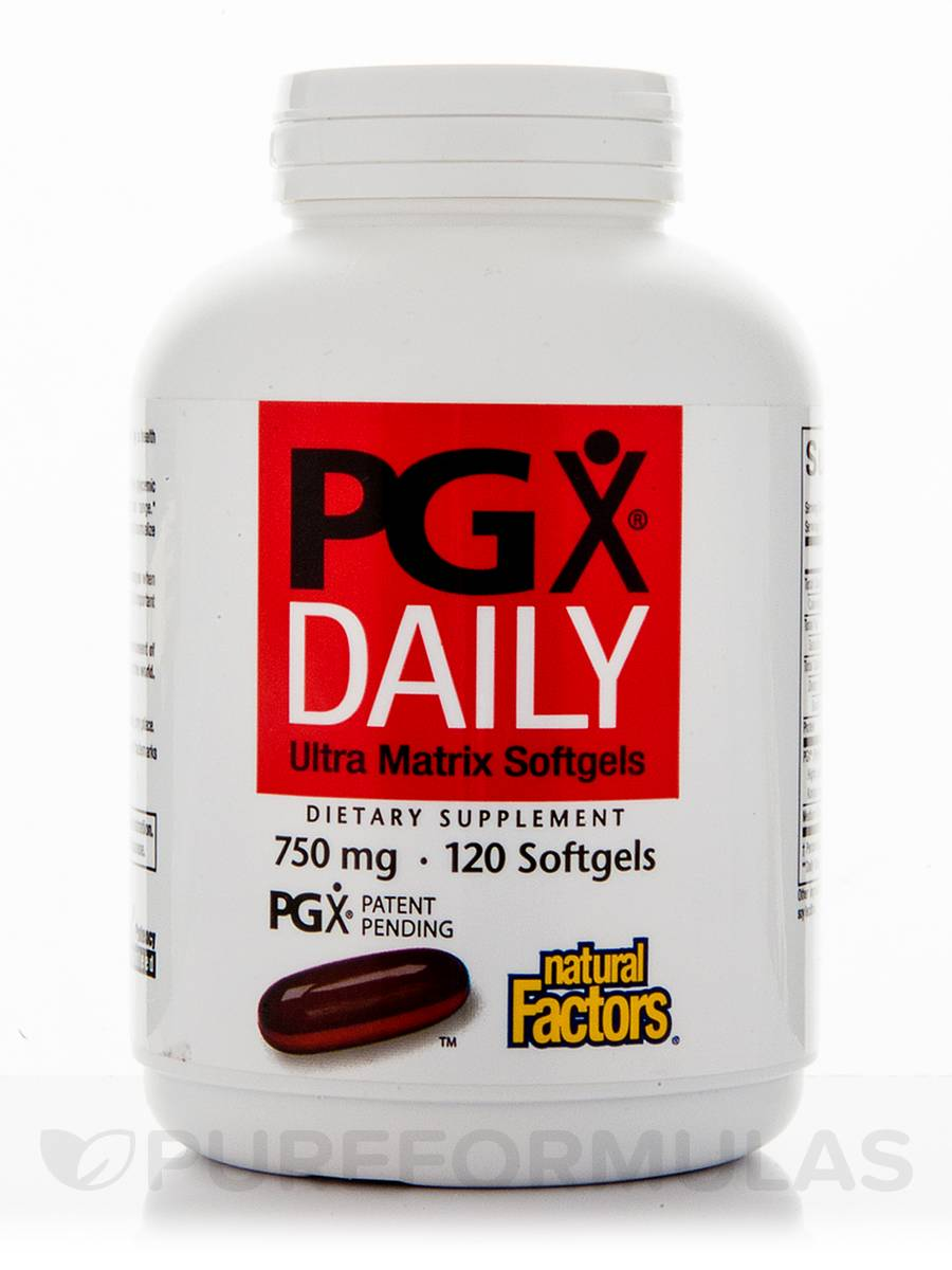 PGX®Daily Ultra Matrix 750 mg - 120 Softgels