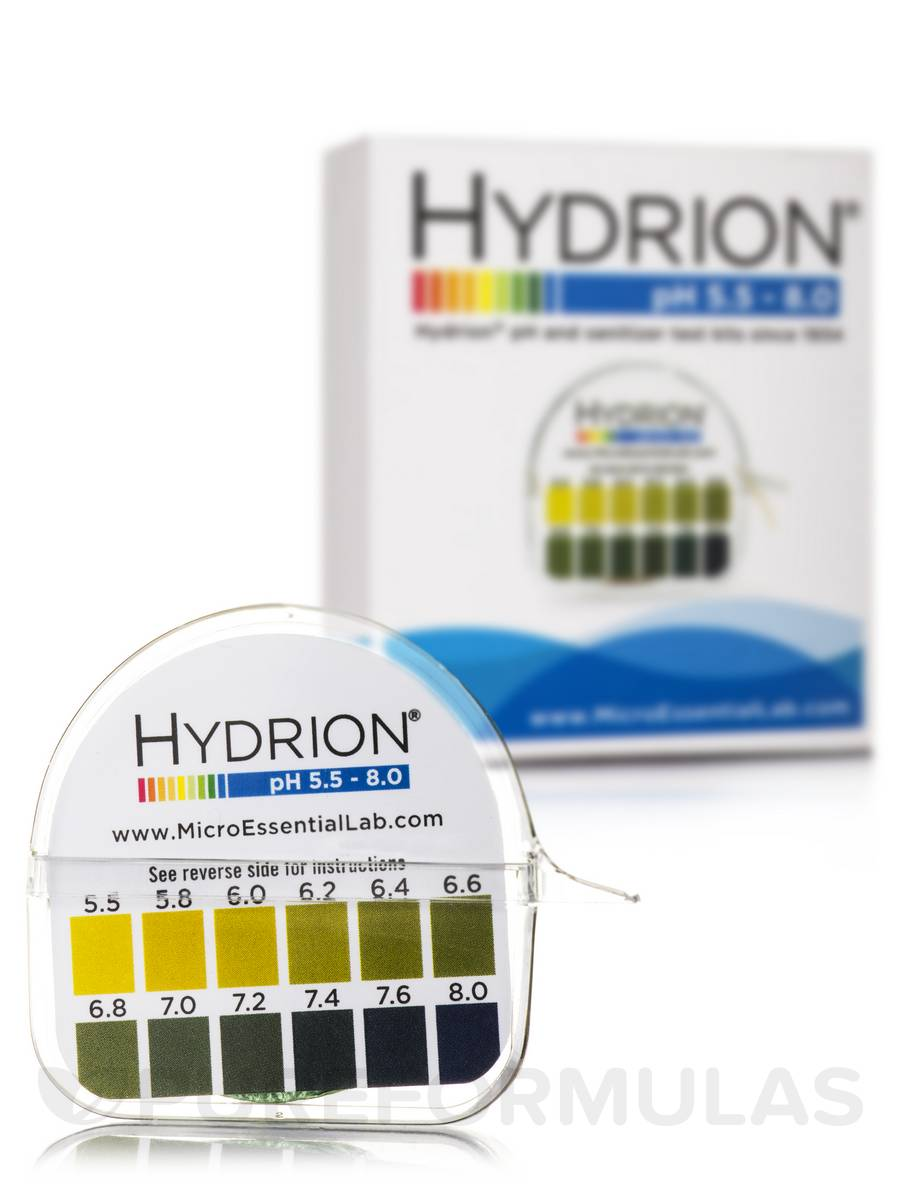 pH Hydrion Papers (pH 5.5 - 8.0)