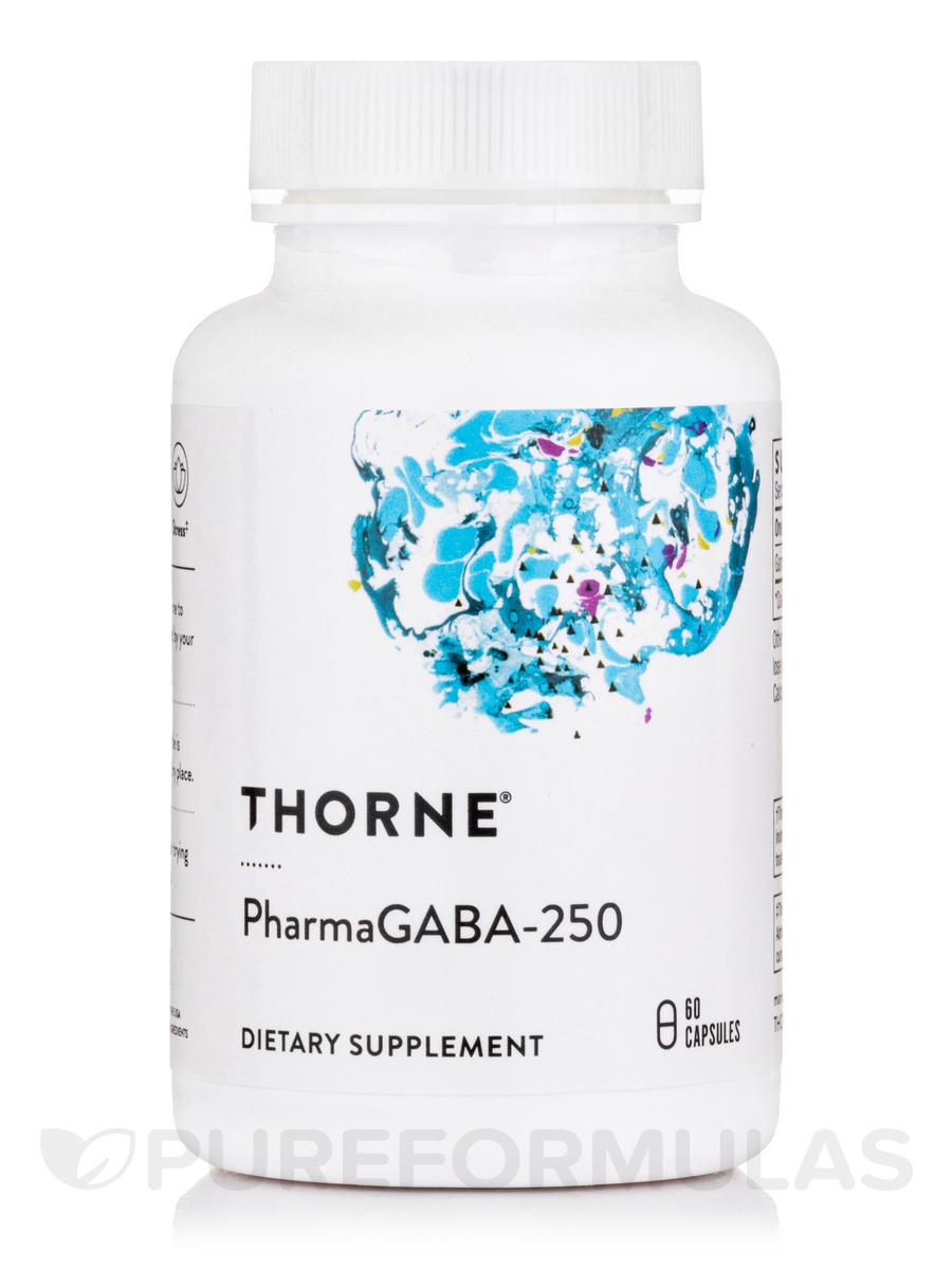 PharmaGABA-250 - 60 Vegetarian Capsules