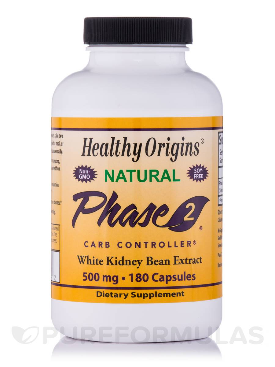 Phase 2® Carb Controller® 500 mg - 180 Capsules