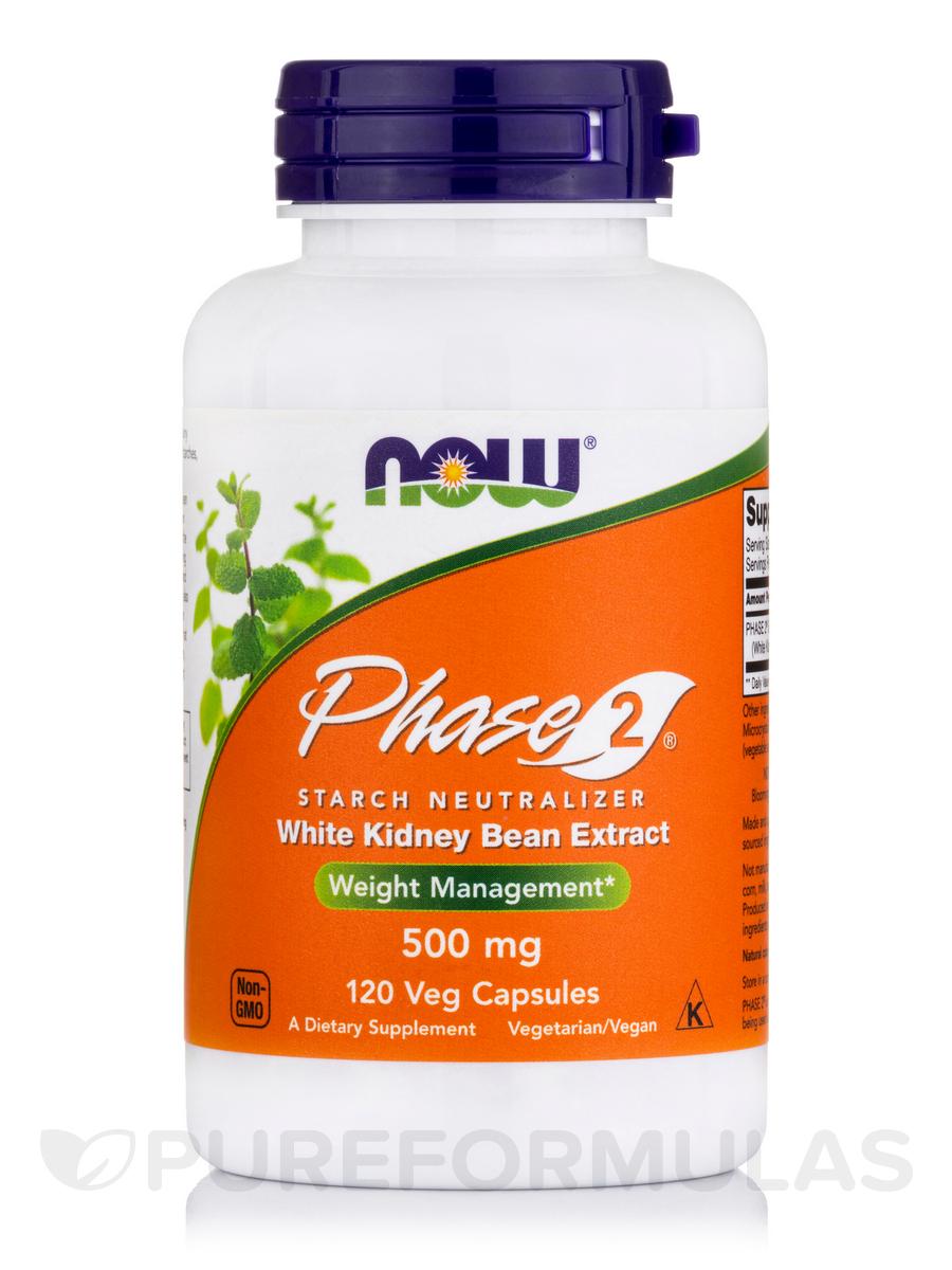 Phase-2® 500 mg - 120 Veg Capsules