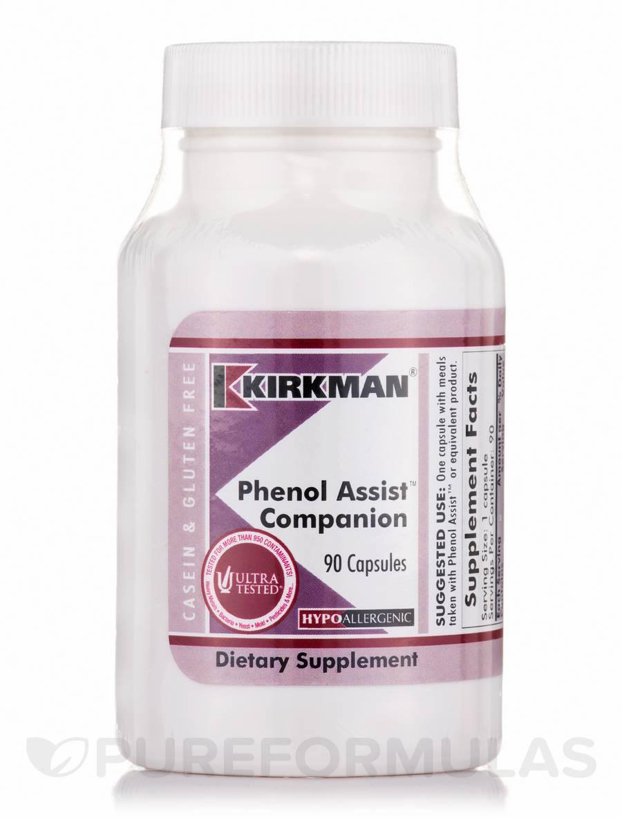Phenol Assist Companion -Hypoallergenic - 90 Capsules