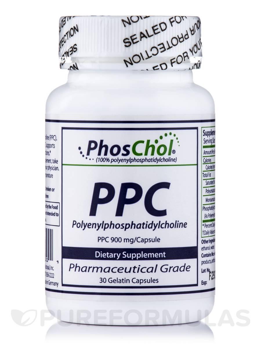 PPC PolyenylPhosphatidylCholine 900 mg - 30 Capsules