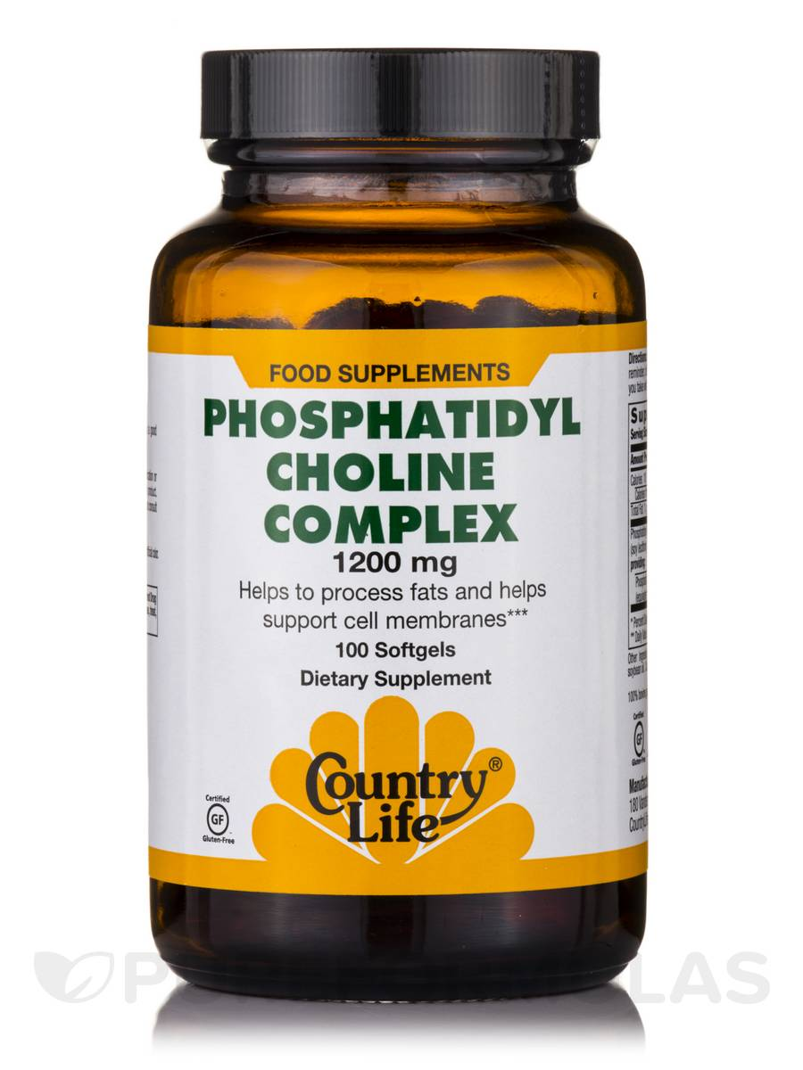 Phosphatidyl Choline Complex - 100 Softgels