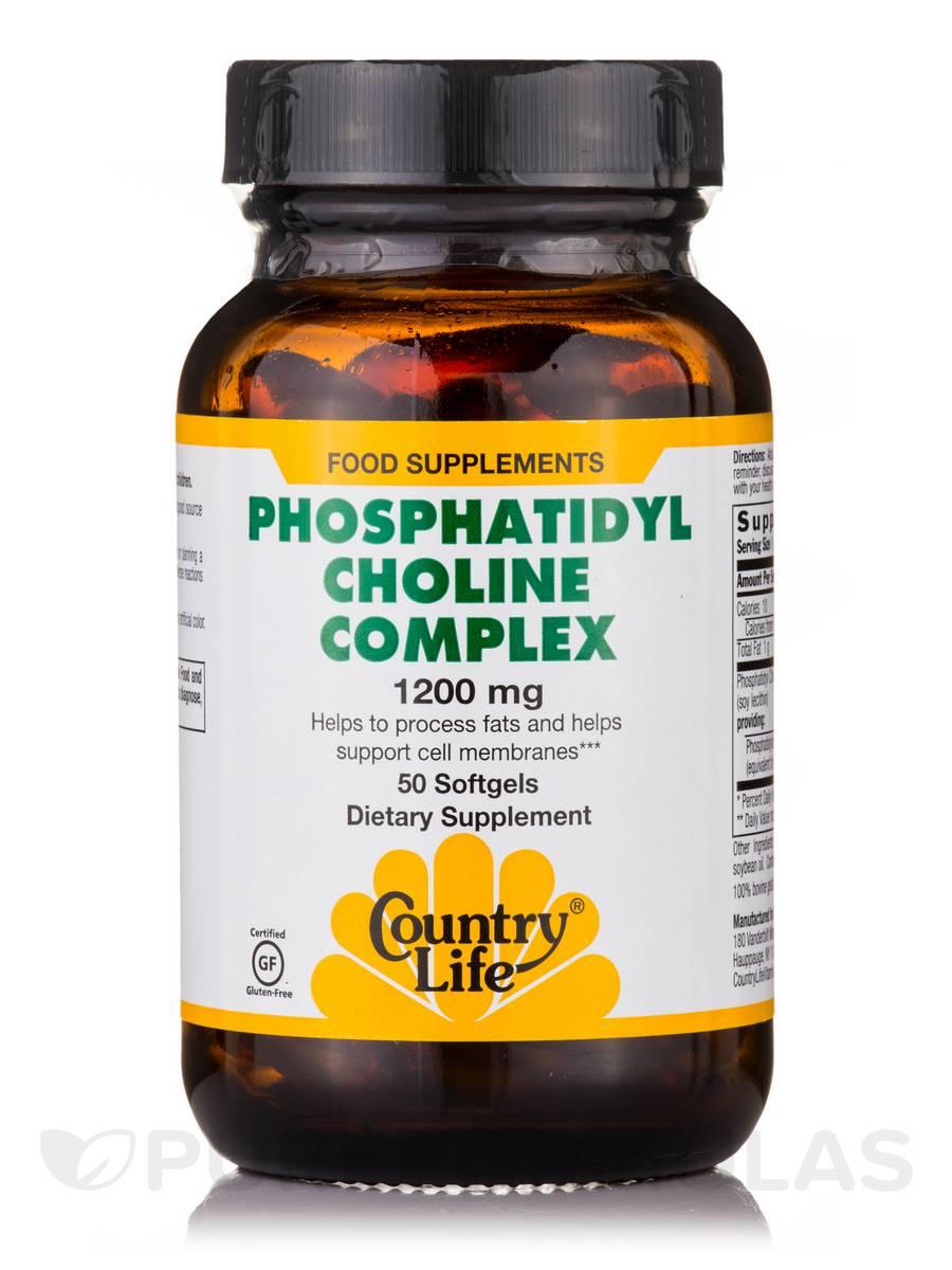 Phosphatidyl Choline Complex - 50 Softgels