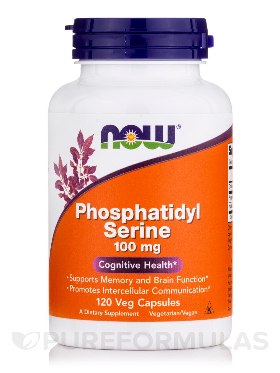 Phosphatidyl Serine 100 mg - 120 Vegetarian Capsules