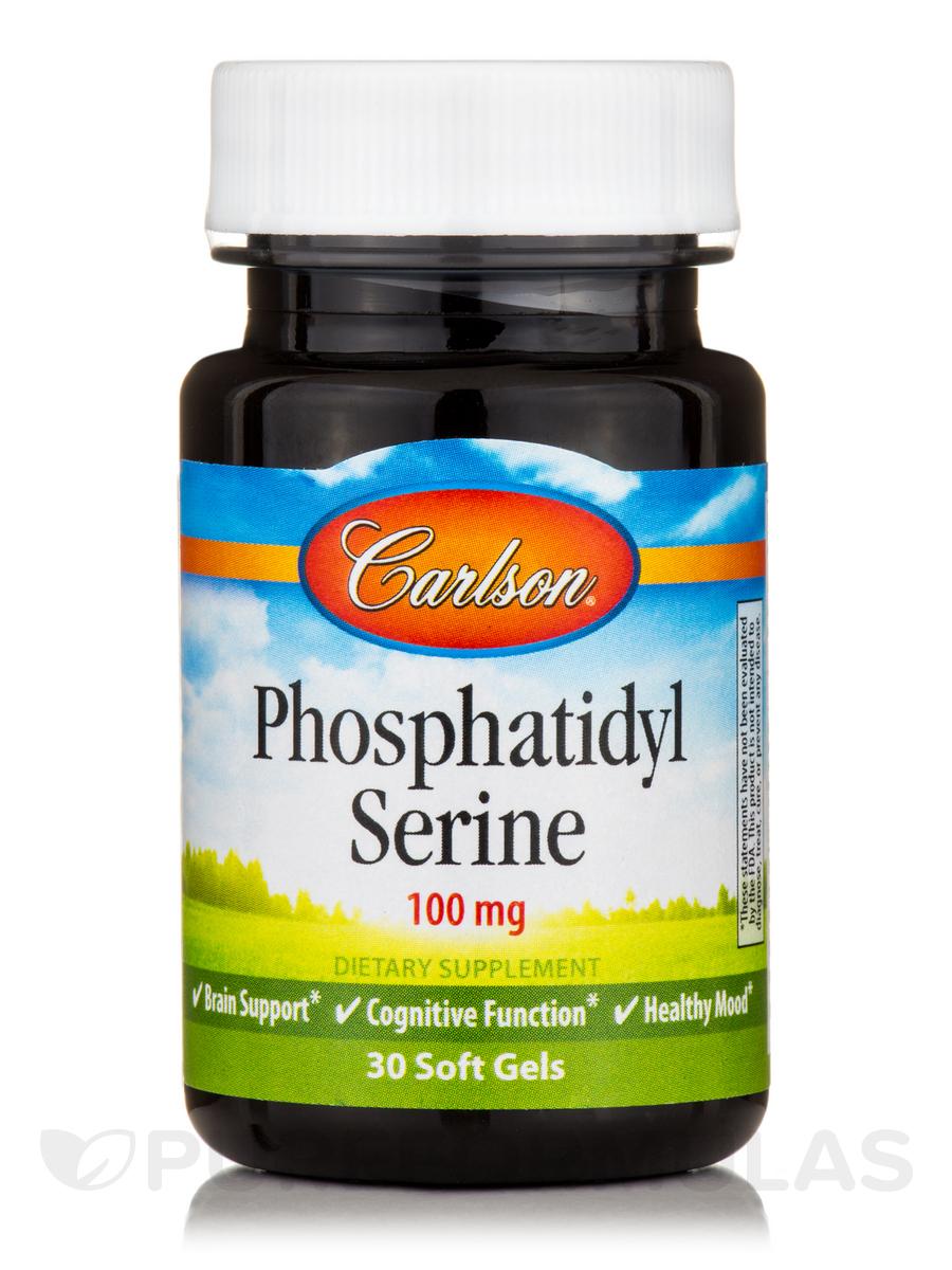 Phosphatidyl Serine 100 mg - 30 Soft Gels