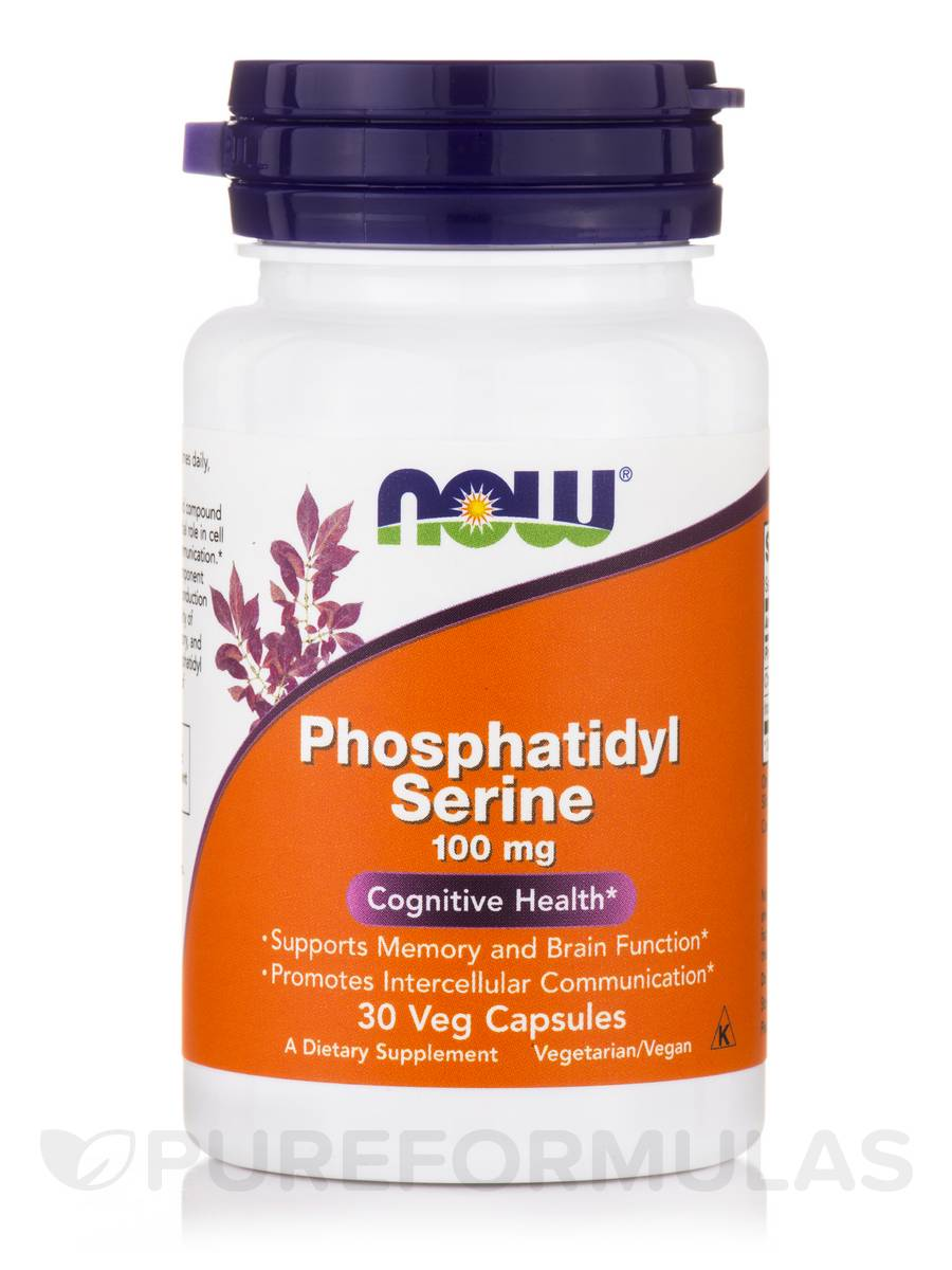 Phosphatidyl Serine 100 mg - 30 Veg Capsules