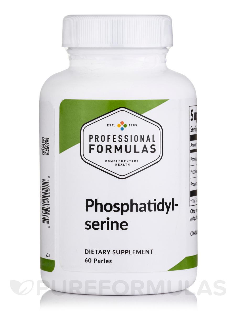 Phosphatidyl Serine 100 mg - 60 Perles