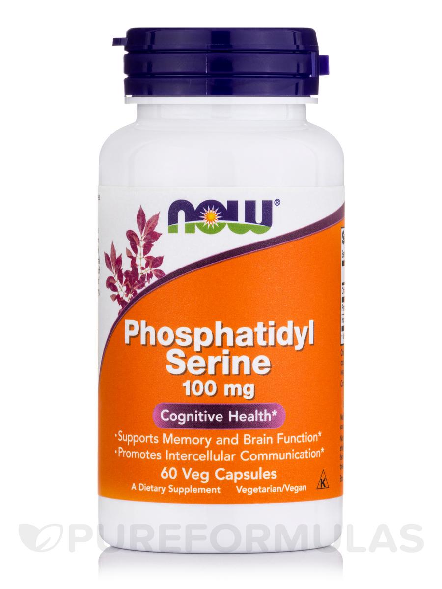 Phosphatidyl Serine 100 mg - 60 Vegetarian Capsules