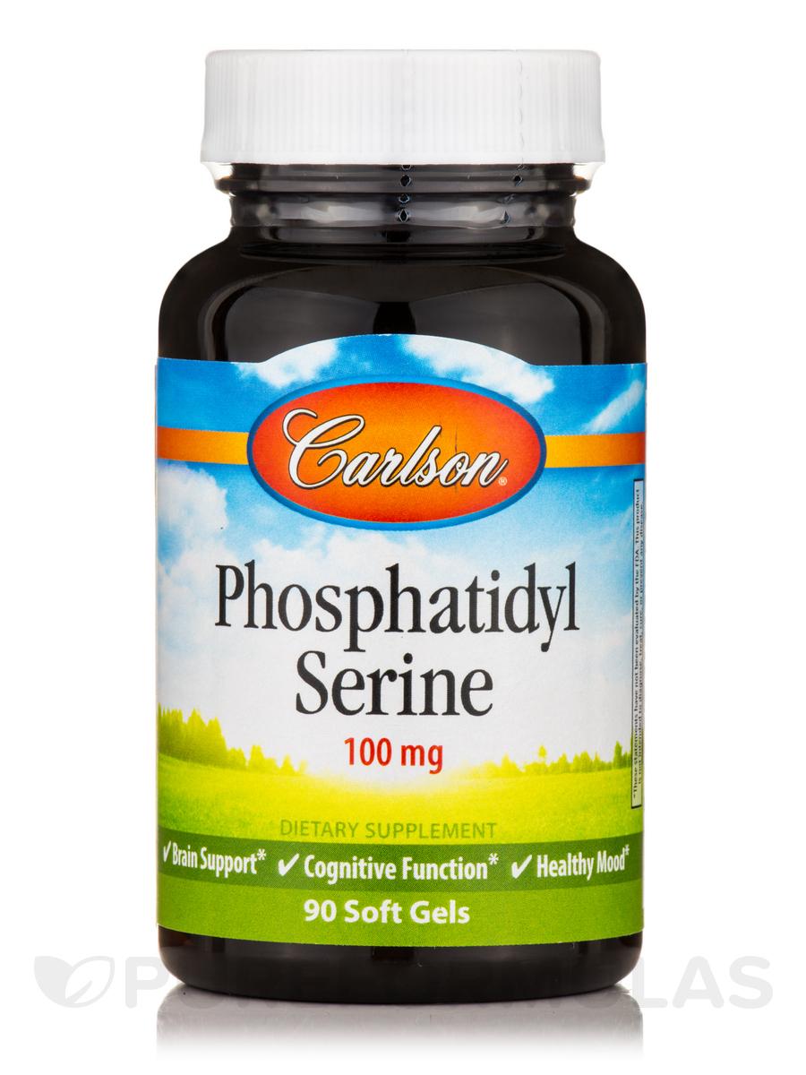 Phosphatidyl Serine 100 mg - 90 Soft Gels
