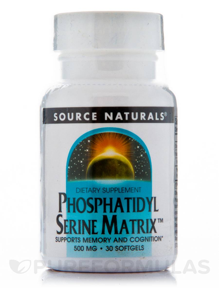 Phosphatidyl Serine Matrix - 30 Softgels