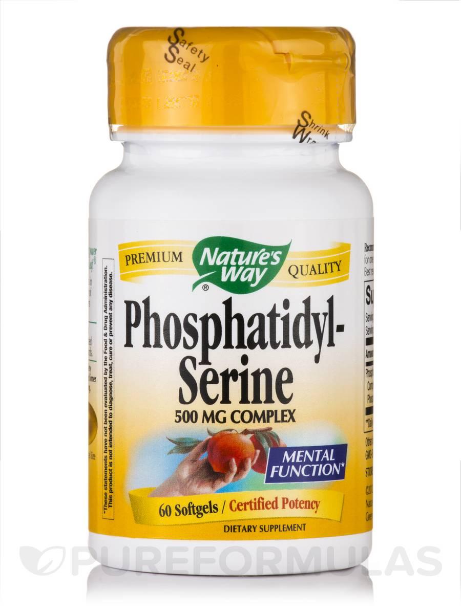 Phosphatidyl-Serine 500 mg - 60 Softgels