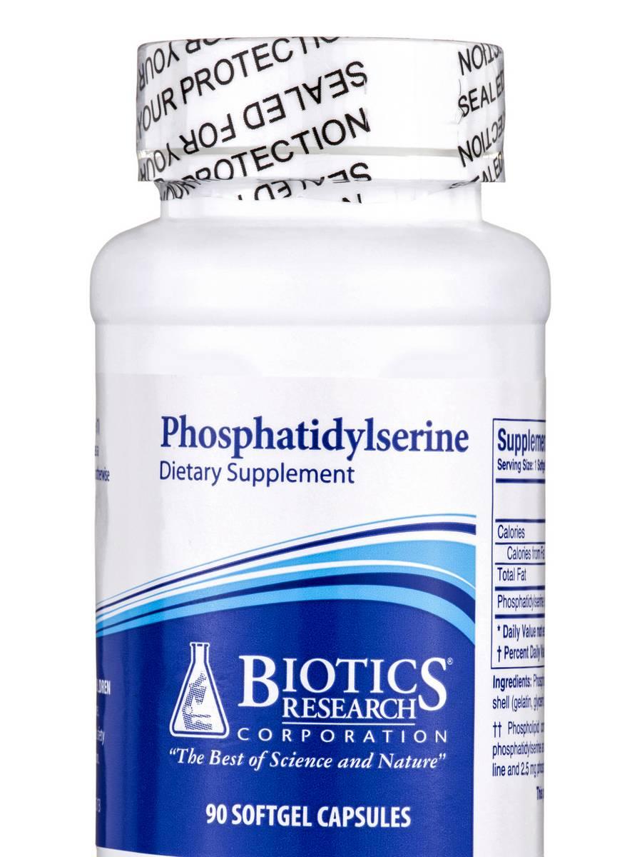 Phosphatidylserine - 90 Softgel Capsules