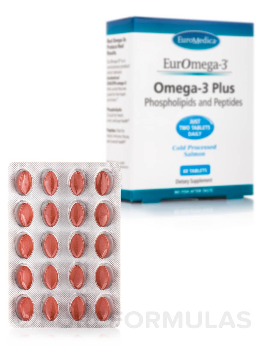 EurOmega-3® Omega-3 Plus - 60 Tablets