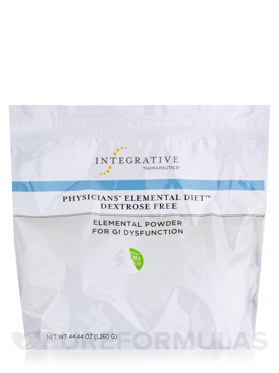 Physicians' Elemental Diet Dextrose Free - 44.44 oz (1260 Grams)
