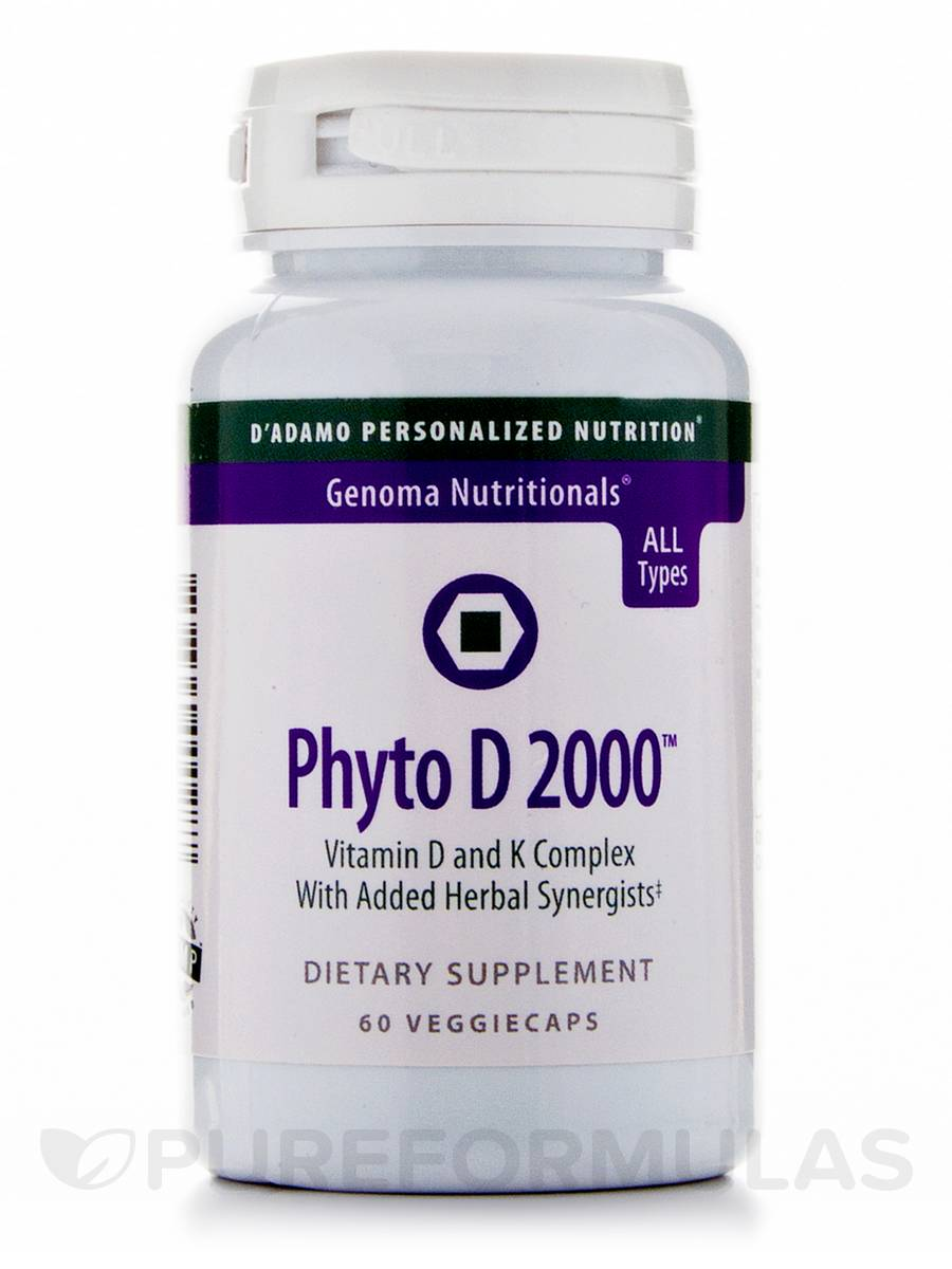 Phyto D 2000 - 60 Veggie Capsules