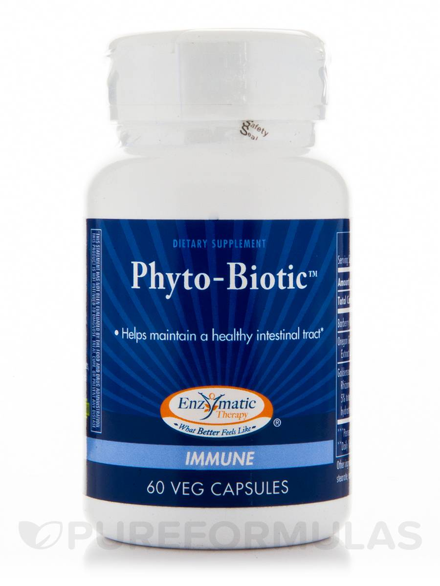 Phyto-Biotic - 60 Vegetable Capsules