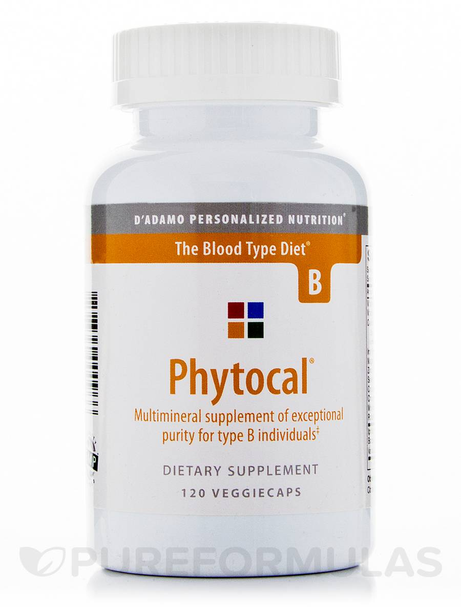 Phytocal Mineral Formula (Type B) - 120 Veggie Capsules