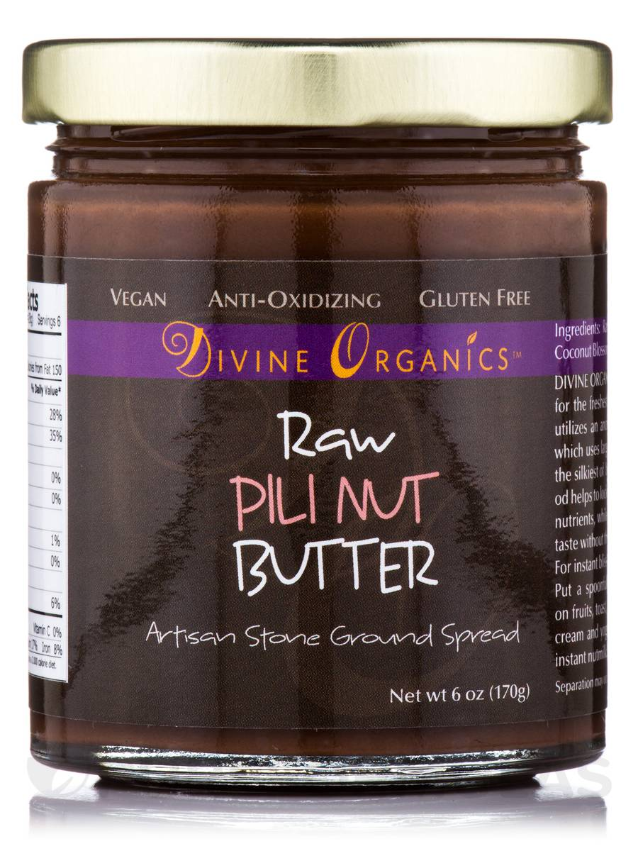 Pili Nut Butter - 6 oz (170 Grams)