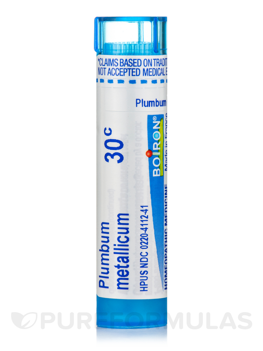 Plumbum Metallicum 30c