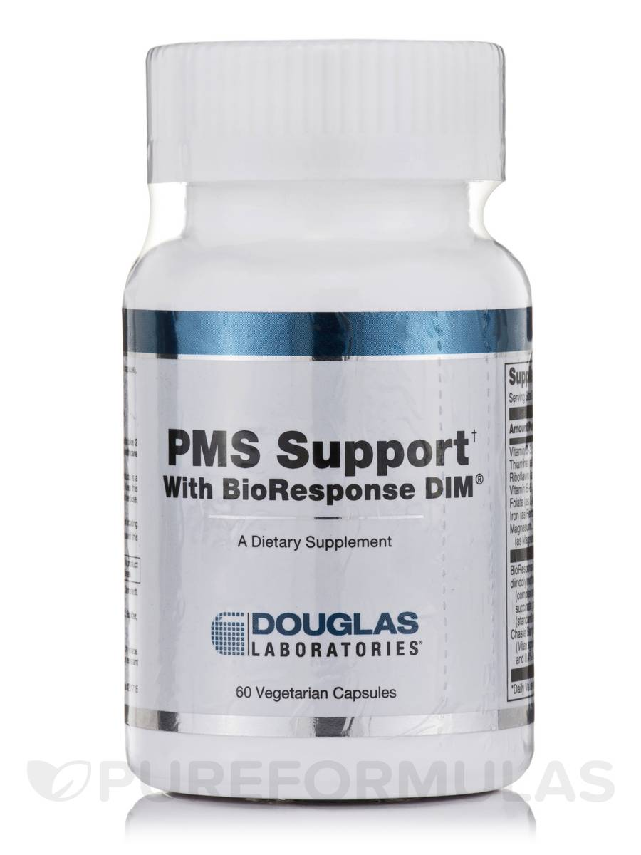 PMS Support with BioResponse DIM - 60 Vegetarian Capsules