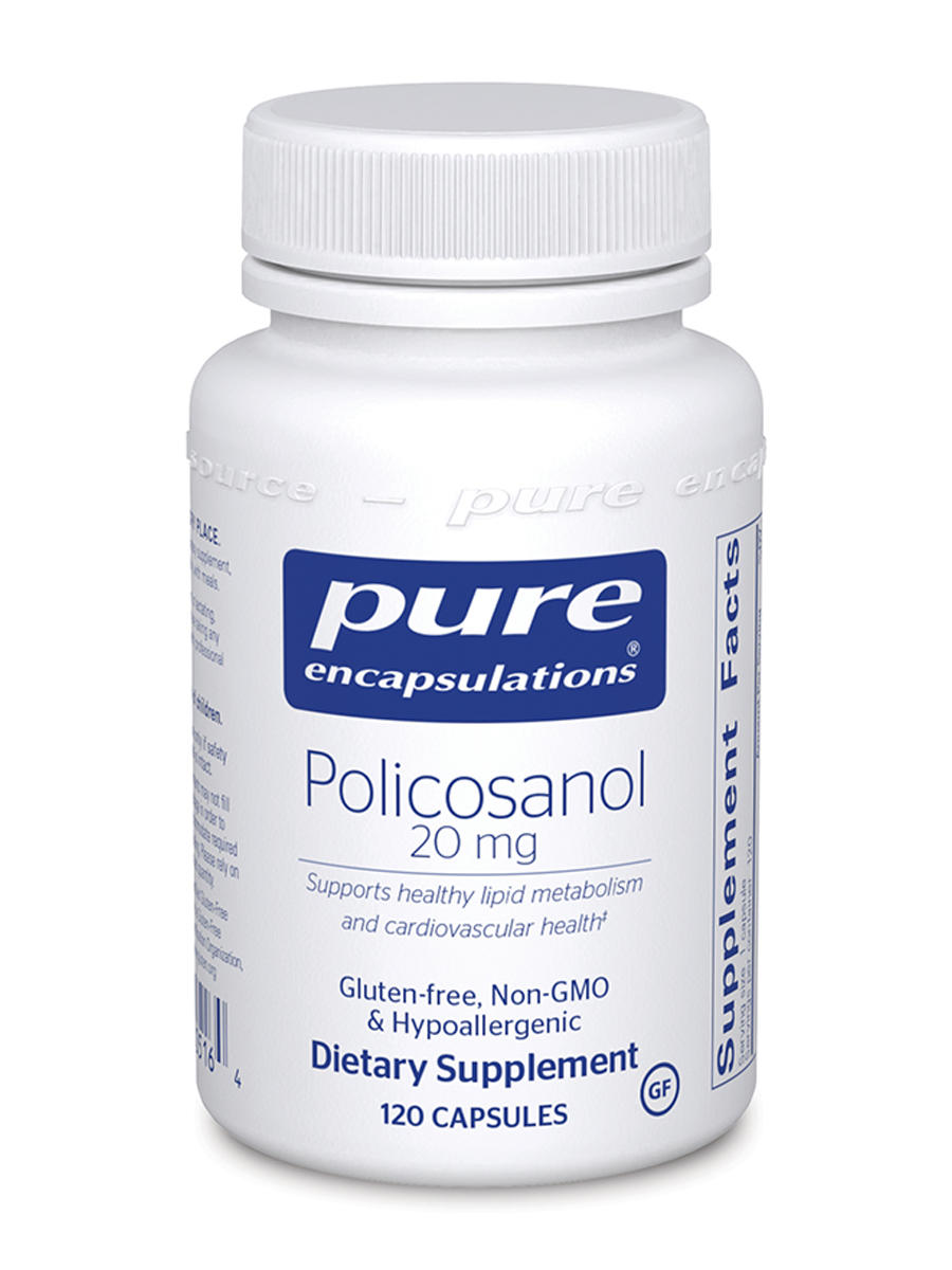 Policosanol 20 mg - 120 Capsules