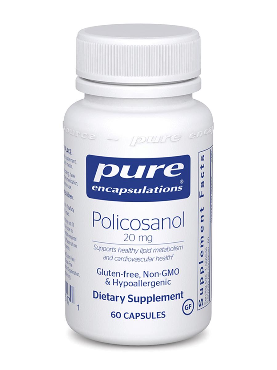 Policosanol 20 mg - 60 Capsules