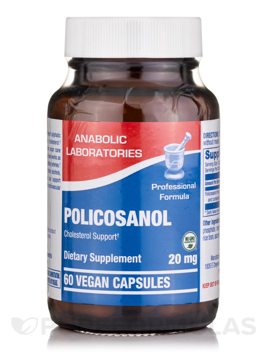 Policosanol 20 mg - 60 Vegetarian Capsules