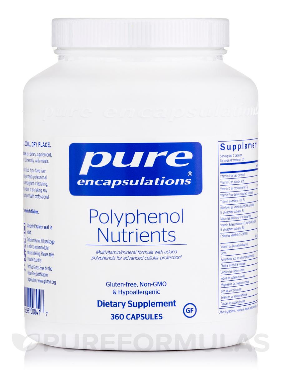 Polyphenol Nutrients - 360 Capsules