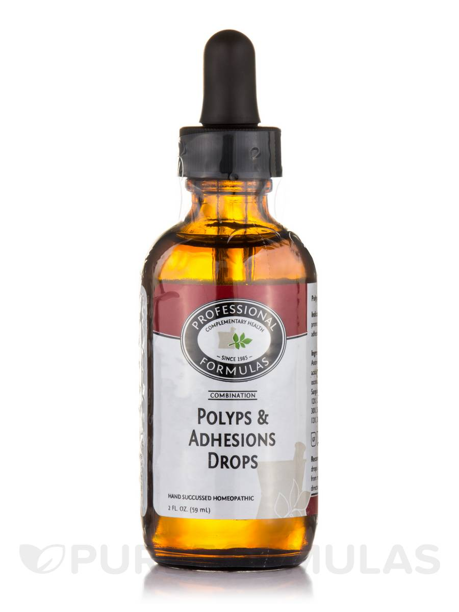 Polyps And Adhesions Drops - 2 fl. oz (60 ml)