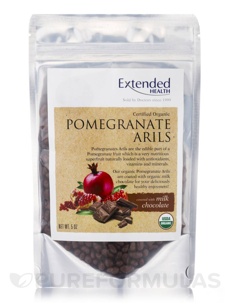 Pomegranate Arils Milk Chocolate - 5 oz