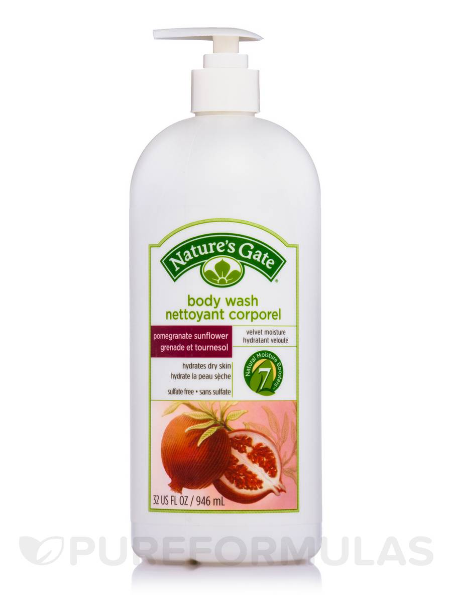 Pomegranate Sunflower Velvet Moisture Body Wash - 32 fl. oz (946 ml)
