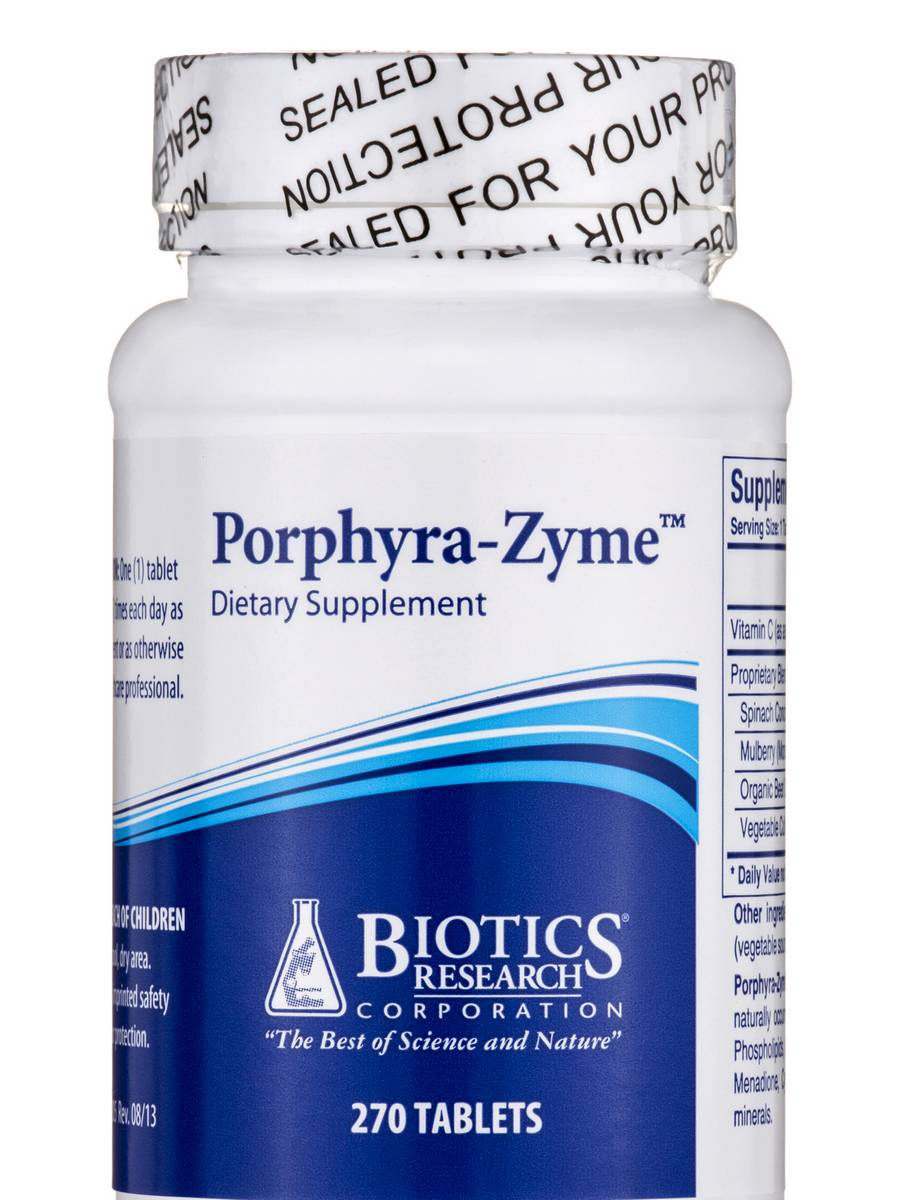 Porphyra-Zyme - 270 Tablets
