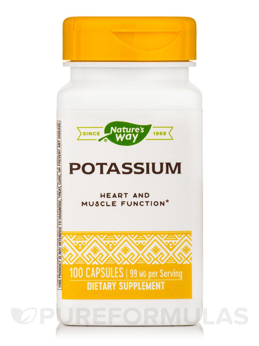 Potassium Complex 99 mg - 100 Capsules