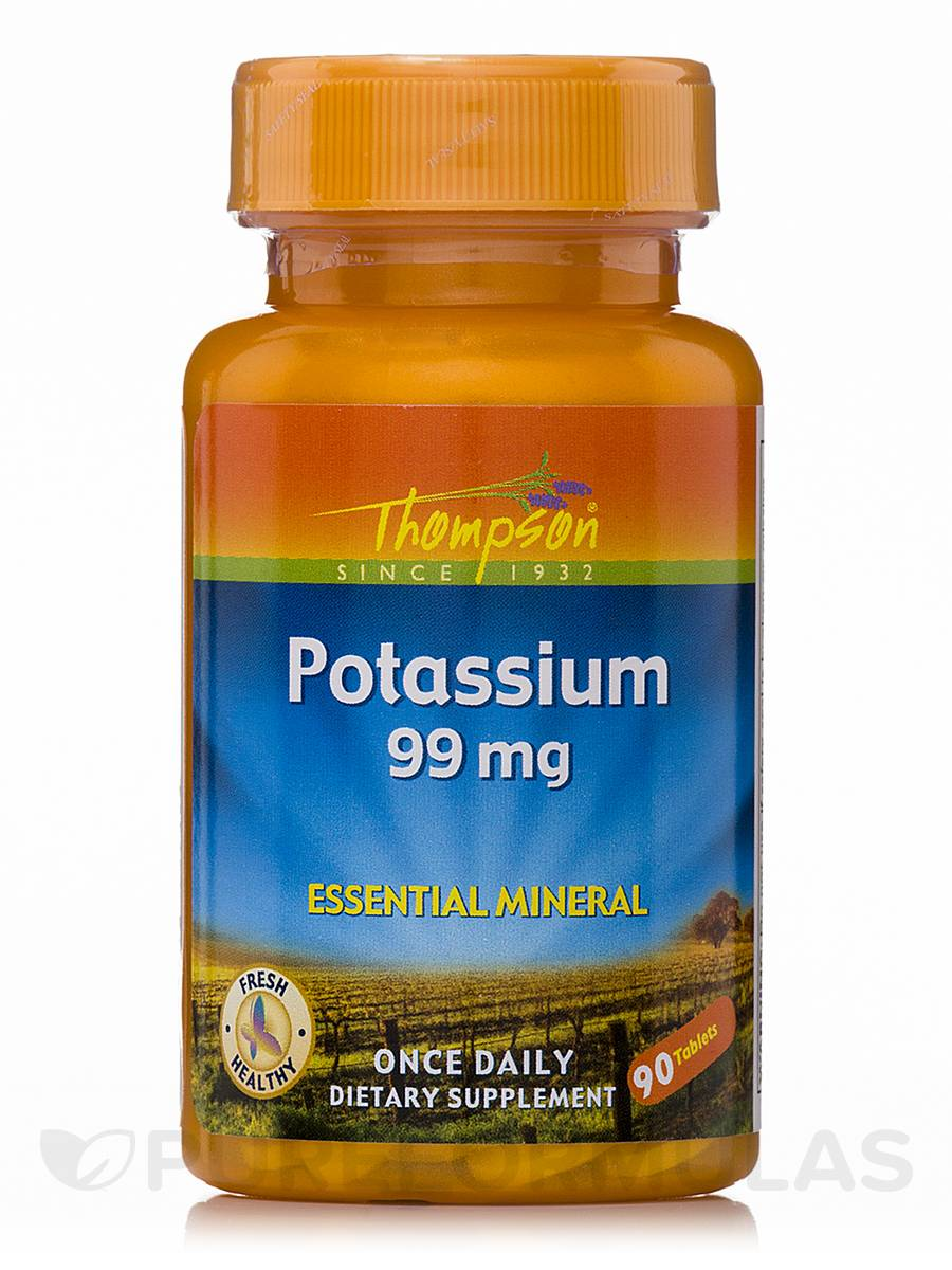 Potassium 99 mg - 90 Tablets