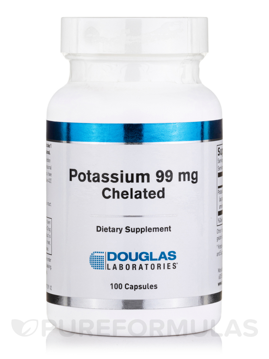 Potassium 99 mg Chelated - 100 Capsulels