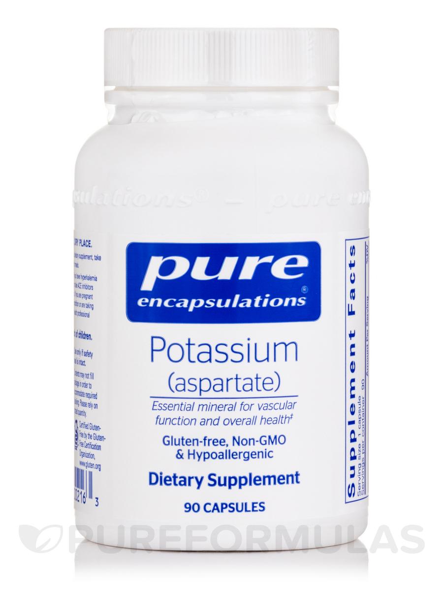 Potassium (aspartate) - 90 Capsules