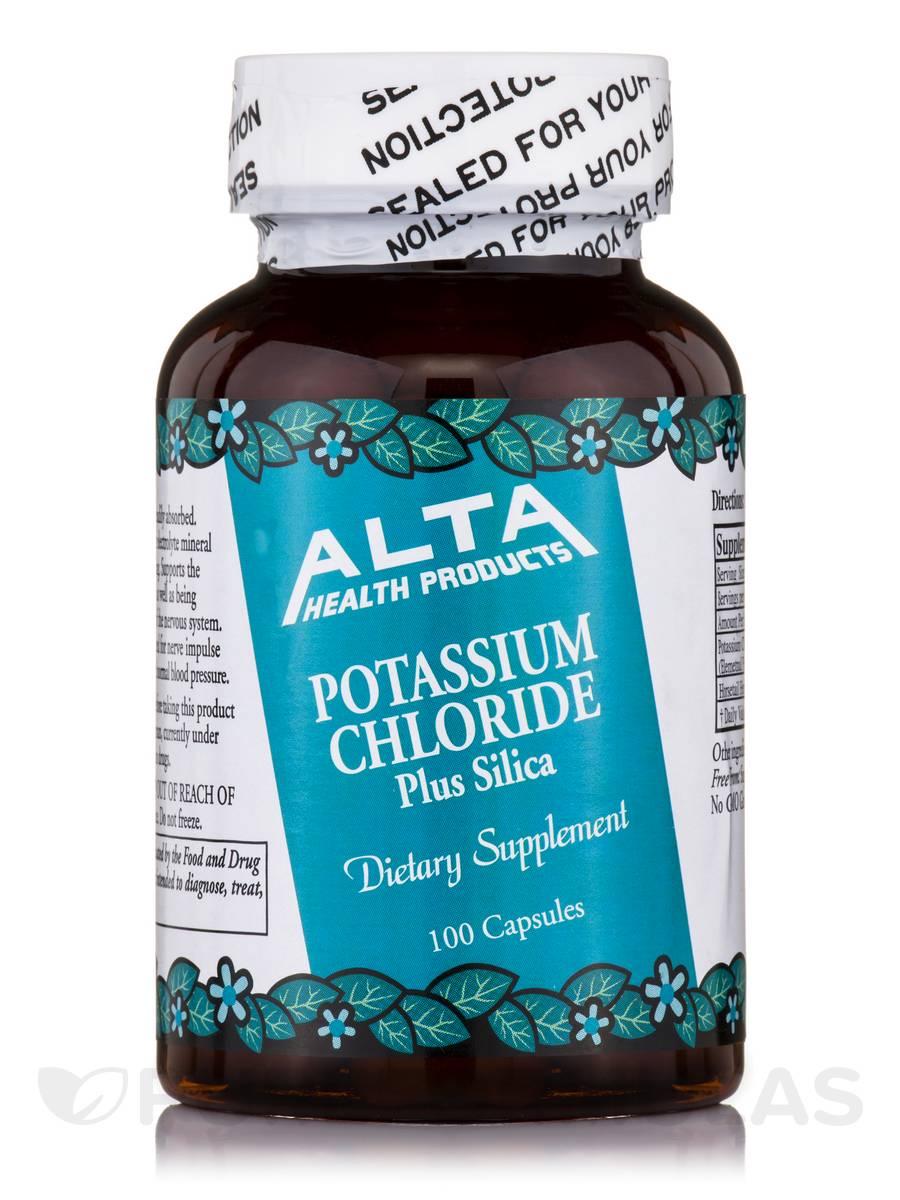 Potassium Chloride Plus Silica - 100 Capsules