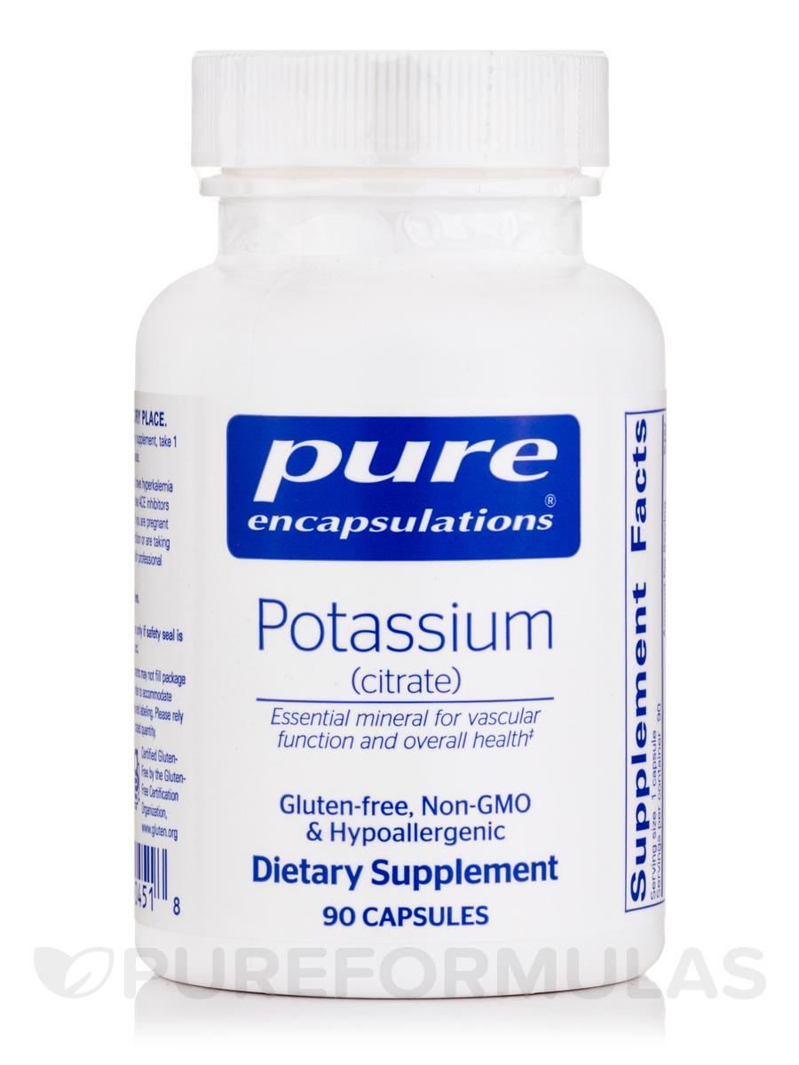 Potassium (citrate) - 90 Capsules