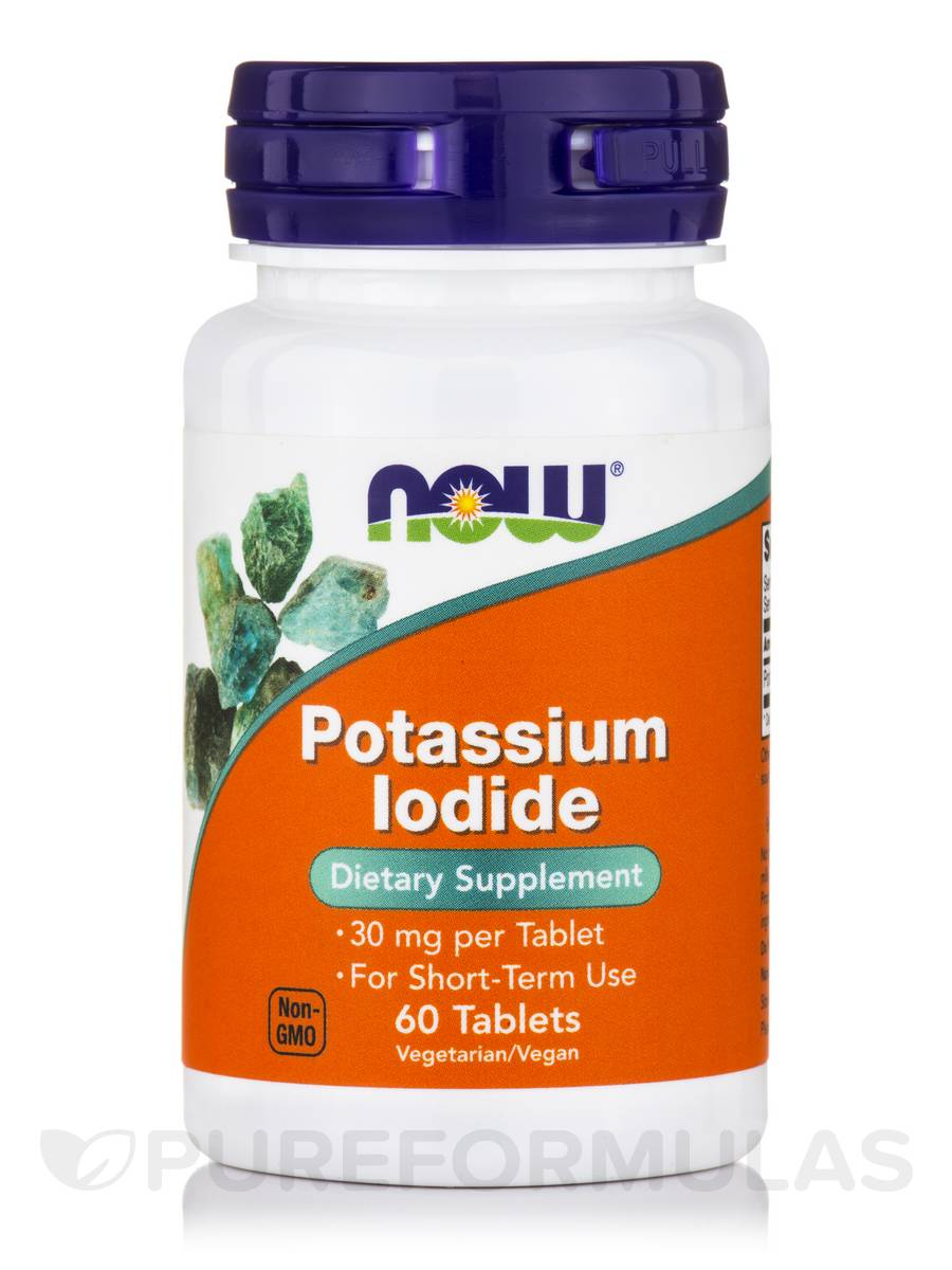 Potassium Iodide 30 mg - 60 Tablets