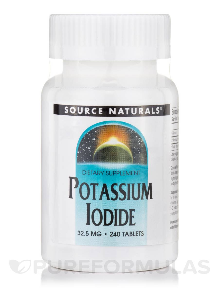 Potassium Iodide 32.5 mg - 240 Tablets
