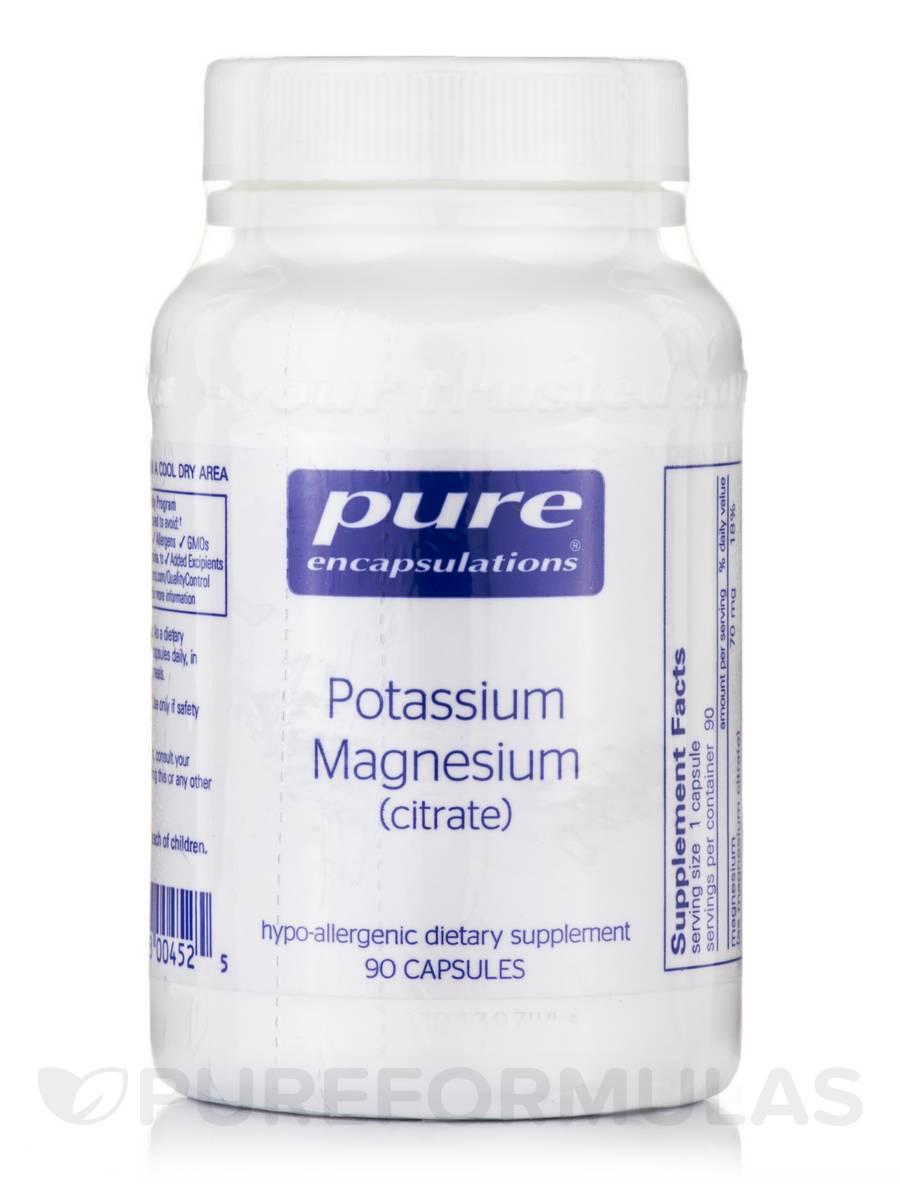 Potassium Magnesium (citrate) - 90 Capsules