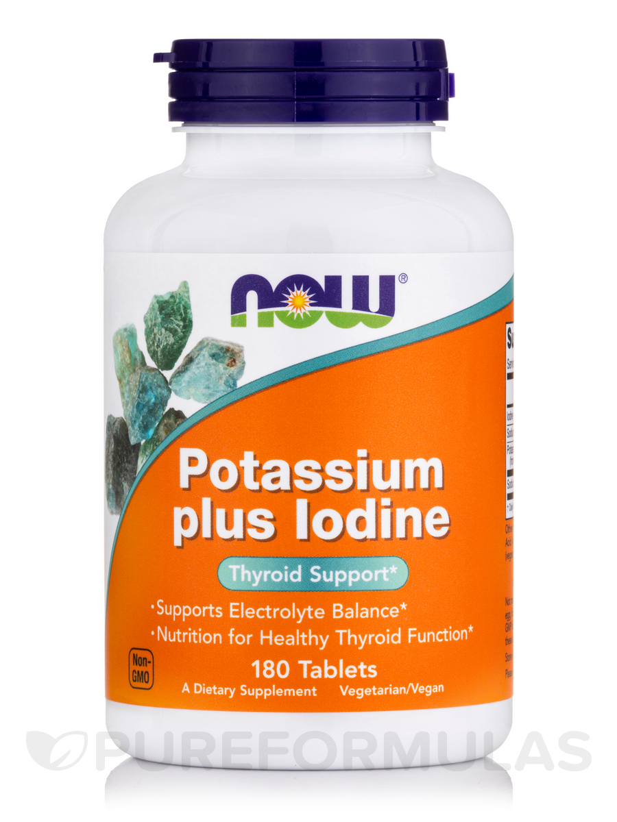 Potassium Plus Iodine - 180 Tablets