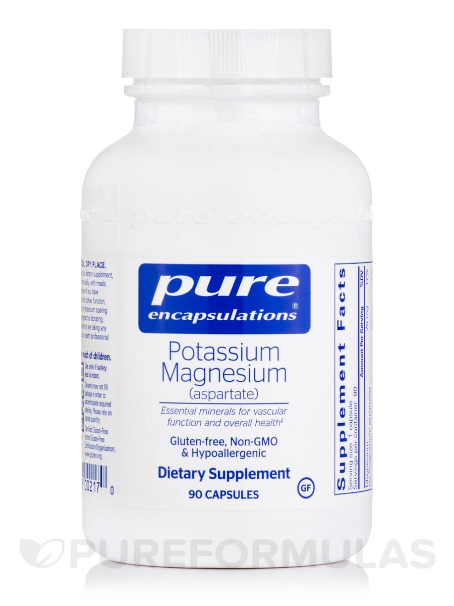 Potassium Magnesium (aspartate) - 90 Capsules