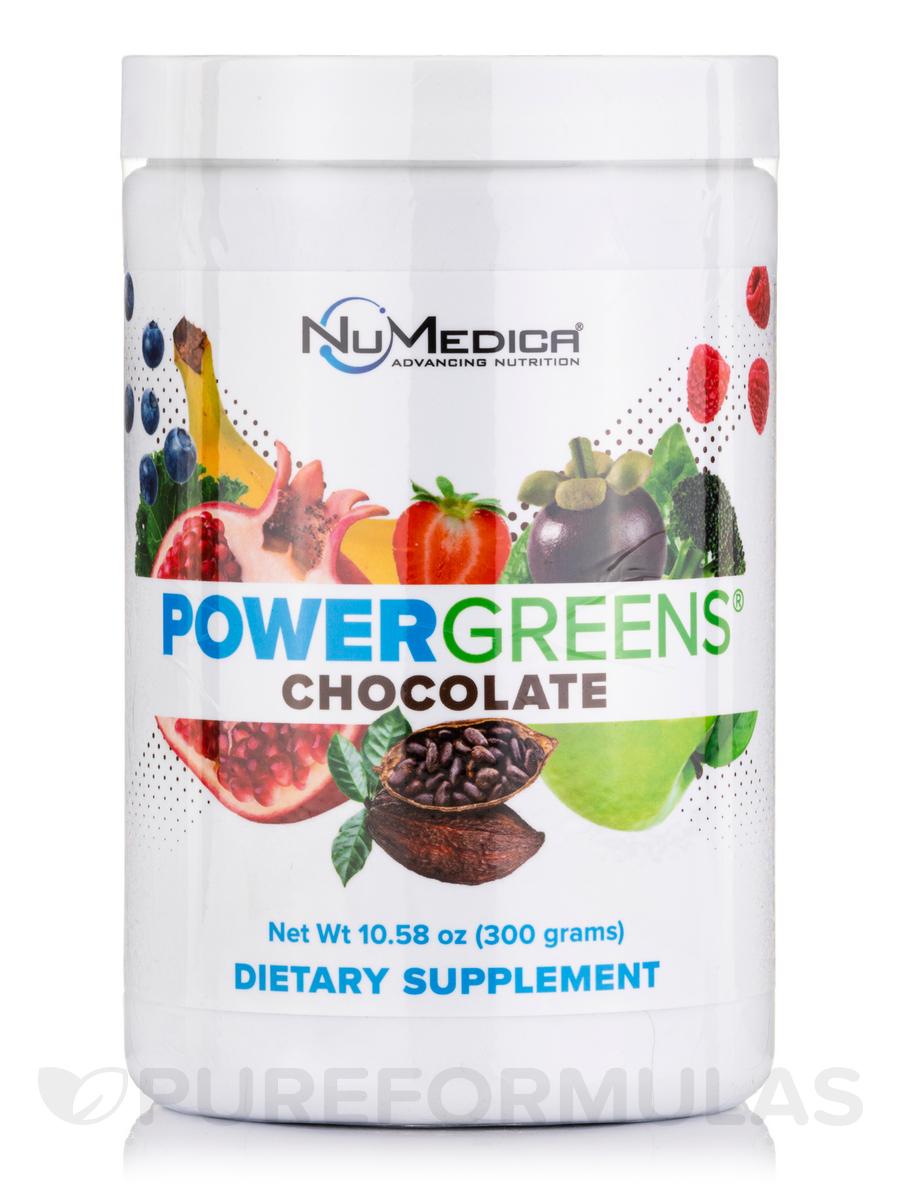 Power Greens® Chocolate Flavor - 27 Servings (10.58 oz / 300 Grams)