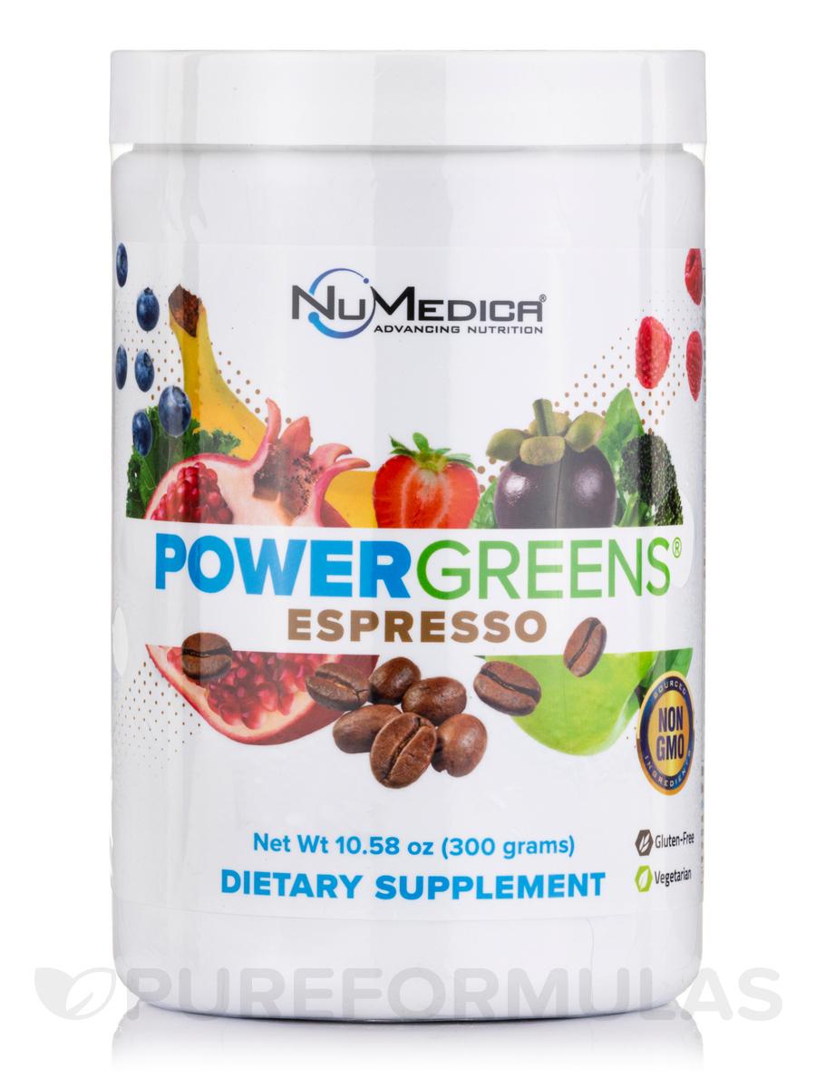 Power Greens® Espresso - 10.58 oz (300 Grams)