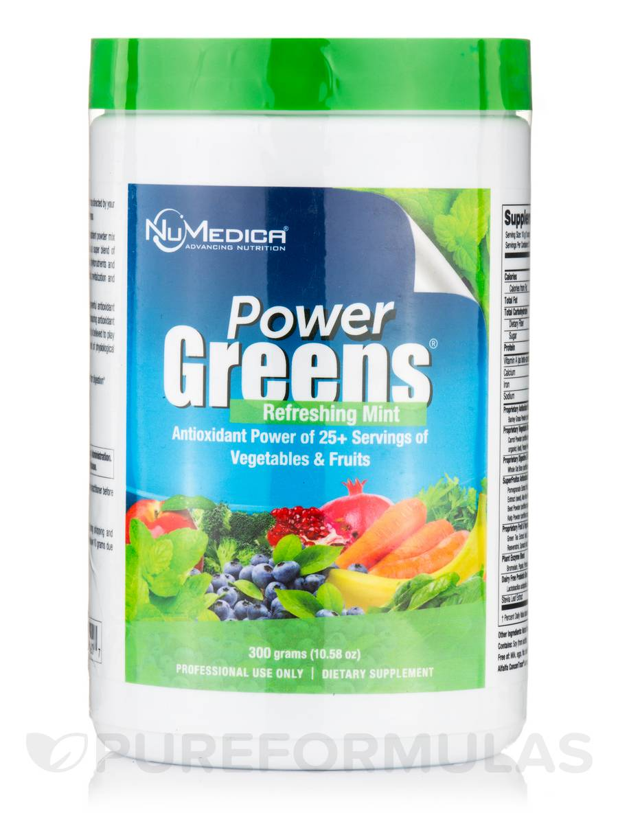 Power Greens® Mint - 10.6 oz (300 Grams)