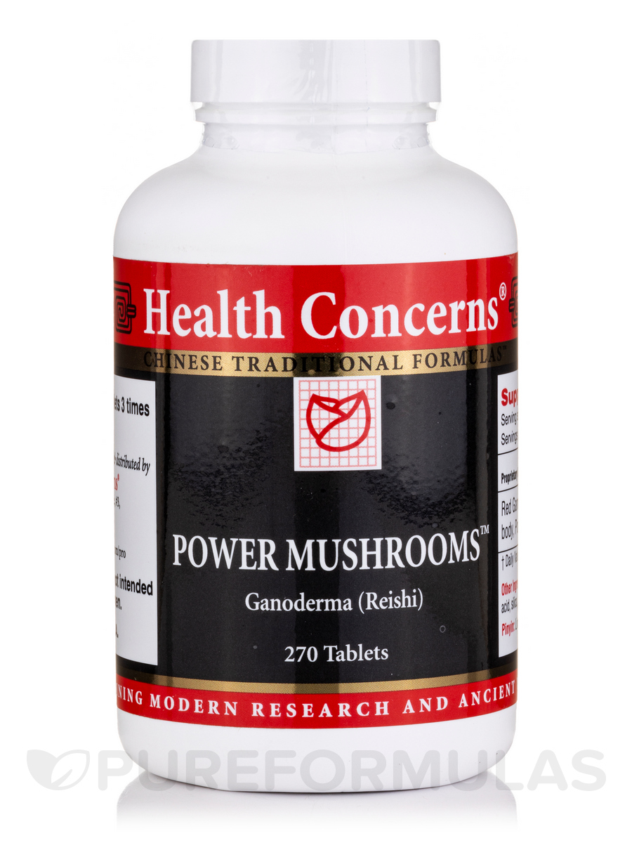 Power Mushrooms - 270 Tablets